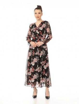 Şifon elbise BR