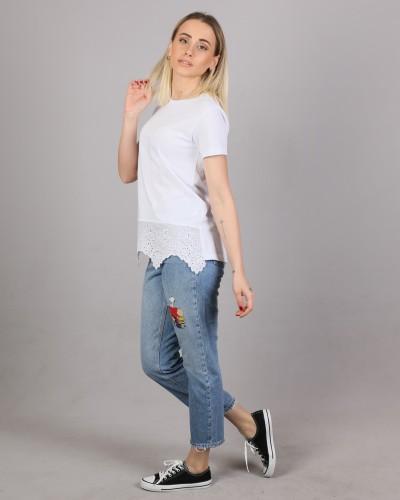 Beyaz Üst Giyim
