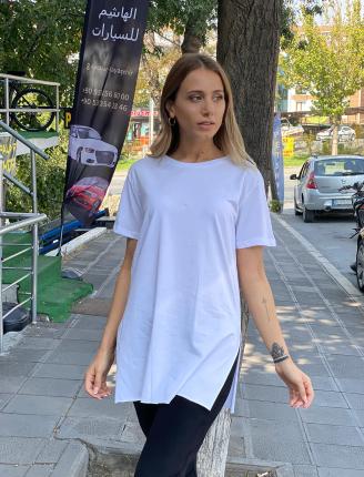 Bisiklet Yaka Basic T-Shirt