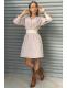 Mini Fresh Kemerli Elbise-SK498