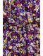 Güllü Yarım Kol Gömlek Elbise-SK549