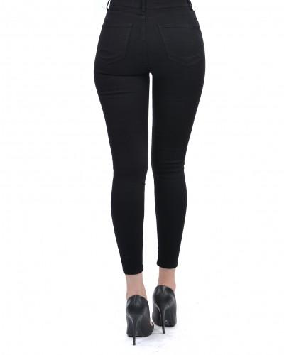 Siyah Kanvas Pantalon