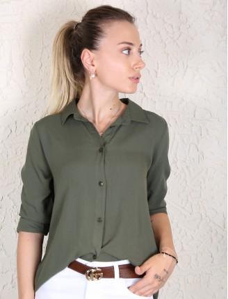 Fashion Düz Gömlek