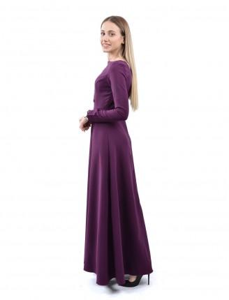 Maxi Uzun Kol Elbise 1035