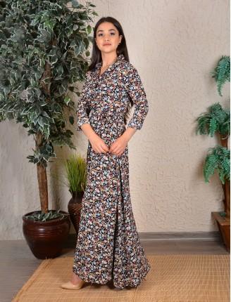 Bahar Çiçek Gömlek Elbise