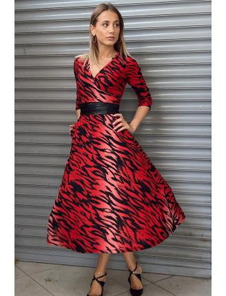 Viva Kaplan Desen Elbise